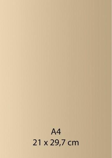 Pearl Papier A 4 LACHS / CREME-GELB mit Klebefolie 652000/1100
