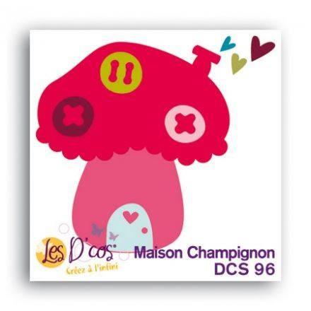 Toga Stanzform Pilz-Haus / Maison Champignon DCS96