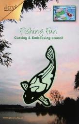 Joycrafts Stanz-u.Prägeform Fishing Fun Koi-Karpfen 6002/0190(du