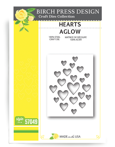 Birch Press Design Stanzform Herzen / Hearts Aglow 57049