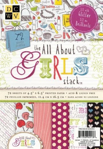Papierblock GIRLS 11,4 x 16,5 cm MS-003-00051