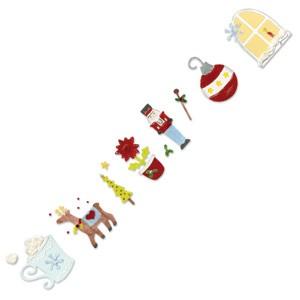 Sizzix Stanzform Sizzlits Border Weihnachts-Advents-Kalender # 2 655649