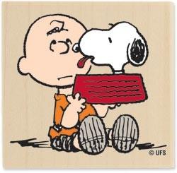 Stempel Snoopy Kisses 1167