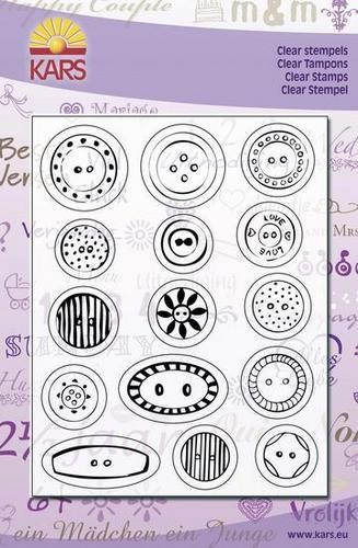 Clear Stamps Knöpfe / buttons
