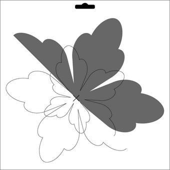 Schablone Scrapflower 5 CLSF 05