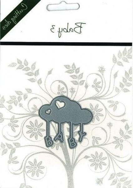 Romak Stanzform Wolke u. Wort ' Baby ' / Baby 3 818015