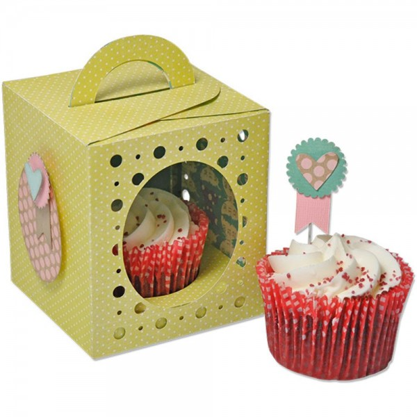 Sizzix Thinlits PLUS Stanzform Box Cupcake 660842 / 59-680-000