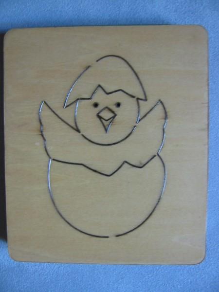 Tao Dies Stanzform Kücken im Ei / chicken S 00228
