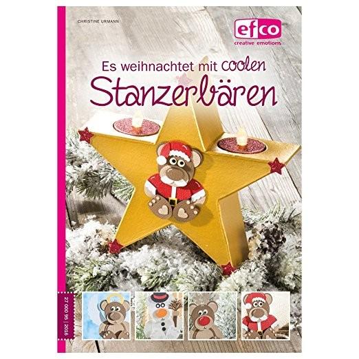 Efco Buch A 5 ' Es weihnachtet mit Stanzerbären '124 Seiten 2700095