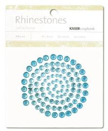 Rhinestones / Glitzersteine selbstklebend HELLBLAU SB703