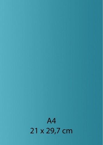 Pearl Papier A 4 EIS - BLAU /TÜRKIS mit Klebefolie 652000/1320