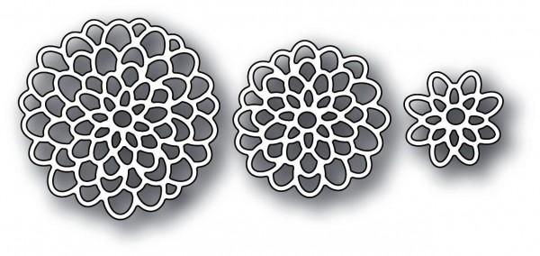 Memorybox Stanzform Blüten / Magnificent Mum Floral Blooms 99618