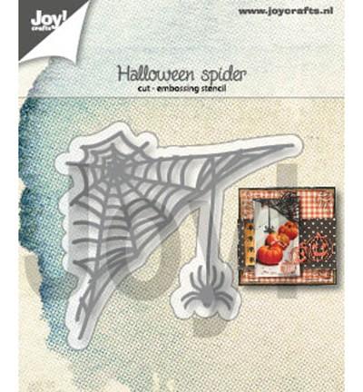Joycrafts Stanzform Spinnennetz u. Spinne / Halloween Spider 6002/1325
