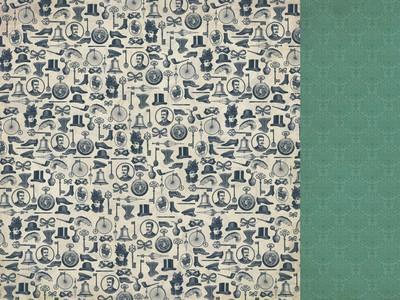 "Kaisercraft Scrapbookingpapier 12 "" x 12 "" Bets's Couture Bolero P1740"