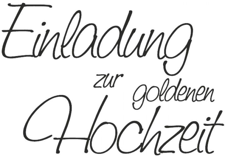 Cart Us Stempel U0027 Einladung Zur Goldenen Hochzeit U0027 1800004