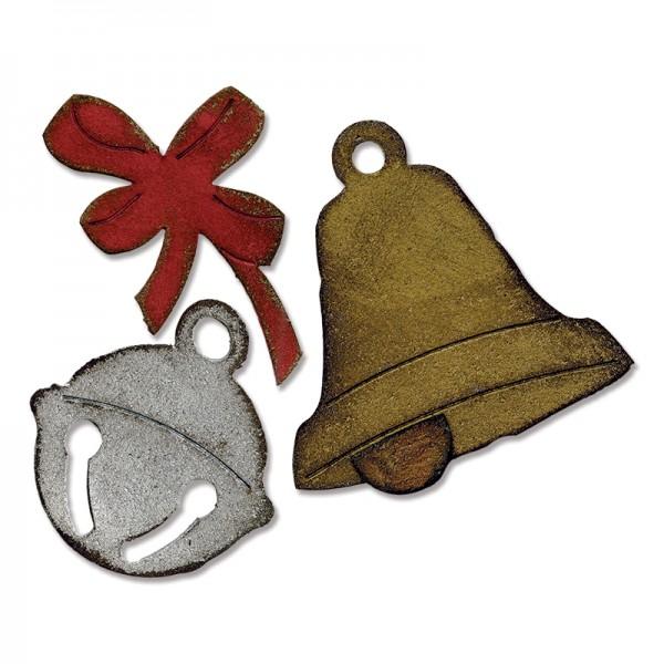 Sizzix Stanzform BIGZ Glöckchen / Christmas Bells 658765