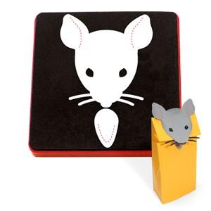 Allstar Maus-Aufsatz für Tüten / paper bag puppet mouse A 10863