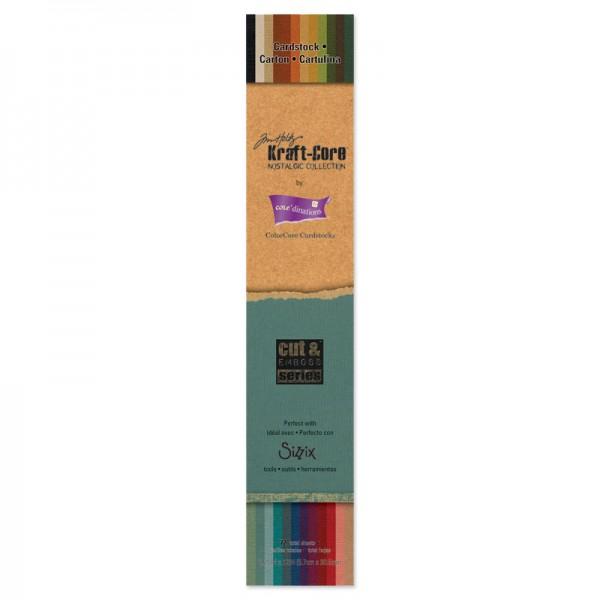 "Sizzix Papier-Block Kraft-Core 2 1/4 ""x12 "" GX-1920-26 / 657 985"