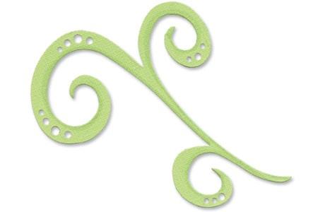 BIGZ Wirbel / decorative accent swirl # 3 656 529