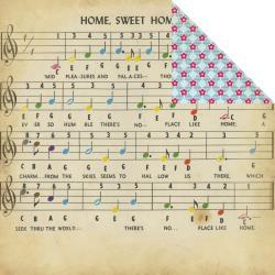 Fancy Pants Scrapbookpapier Childish Things STREET OF MUSIC 1519