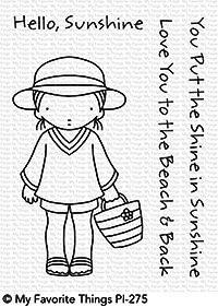 My Favorite Things Clear Stempelset Mädchen mit Hut u. Eimer / Beach Cutie PI-275