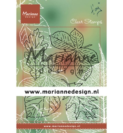 Marianne D Clear Stempel Tiny`s Blätter / Leaves Set TC0876