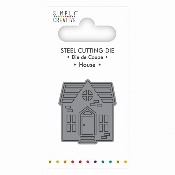 Trimcraft Simply Creative Stanzform Mini Haus / House SCDIE063