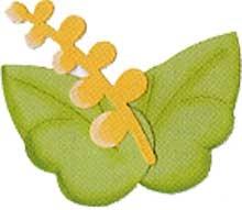 Sizzix Stanzform Originals LARGE Blume / flower beauty foliage 655456