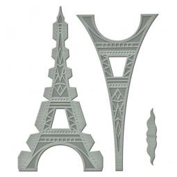 Spellbinders Stanz-u. Prägeform Eifelturm / Le Tour Eiffel GLD-010