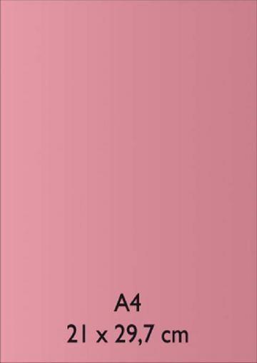 Pearl Papier A 4 ROSA mit Klebefolie