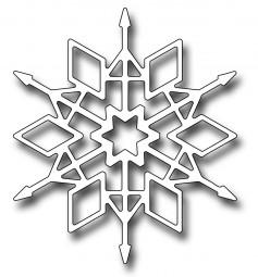 Frantic Stampers Stanzform Schneeflocke / Crystal Snowflake FRA-DIE-10041