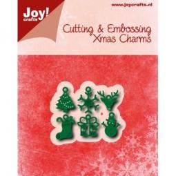 Joycrafts Stanzform Weihnachts-Charms / Chrstmascharms 6002/0779