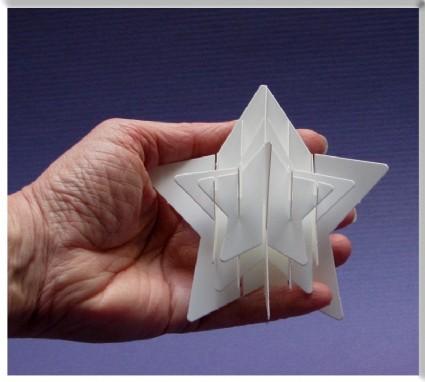 SAR Schablone Stern / Star Stencil ST-Star