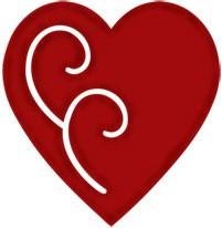 Herz vintage / vintage heart 0966