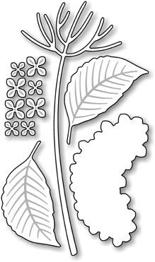 Impression Obsession Stanzform Blume Hortensie/Hydrangea DIE044-