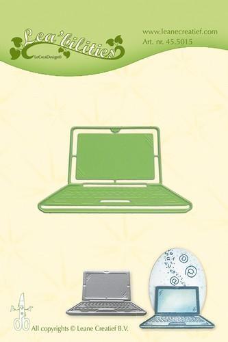 Leane Creatief Stanz-u. Prägeform Computer / Laptop 45.5015