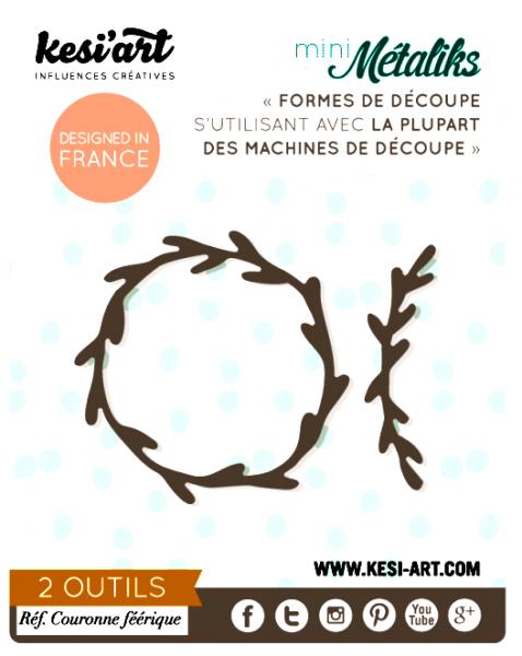 Kesiart Stanzform Kranz / Couronne Feerique OD-271