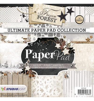 Studio Light Paper Pad 15 cm x 15 cm PPFF87