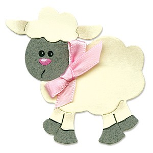 Sizzix Stanzform Originals MEDIUM Schaf # 2 / sheep # 2 655359