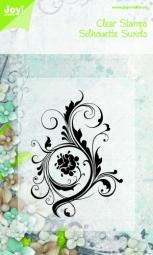 JoyCrafts Clearstempel Swirl 6410/0075