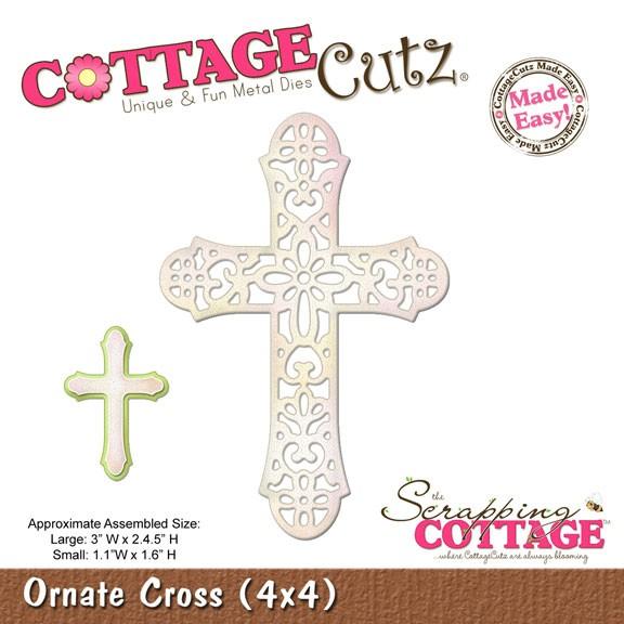Kreuz kunstvoll / ornate cross SC-CC4x4-349