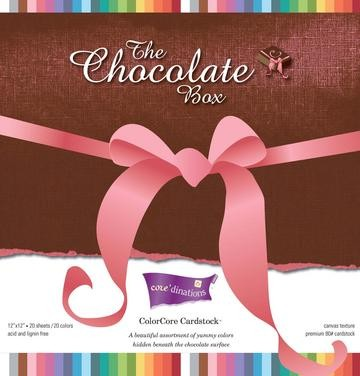 "Color Core The Chocolate Box 12""x 12"" GX-CBXA-12 ( braun ,Schle"