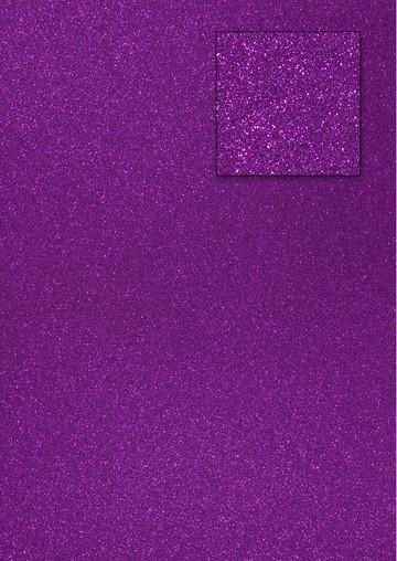 Glitterkarton LILA A 4 653002/0500