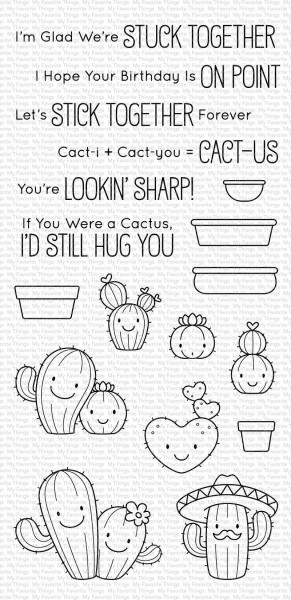 My Favorite Things Clearstempel-Set Let's Stick Together BB-095