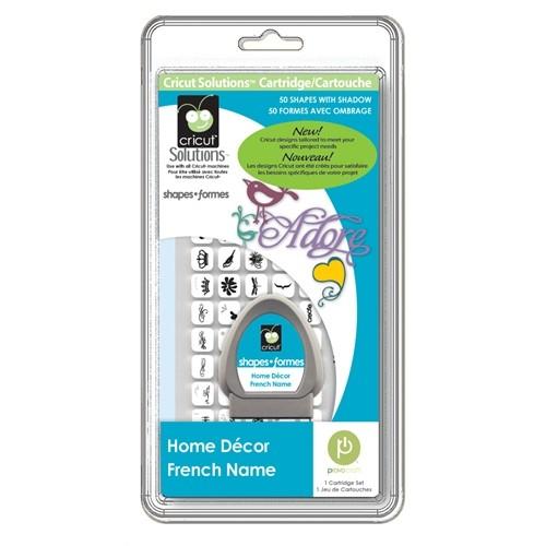 Cricut Cartridge Solutions Home Decor 29-0695