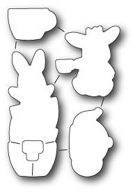 Memorybox Stanzform Teezeit-Hasen / Bunny Tea Time 32171