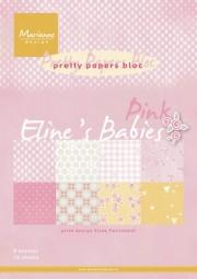 Marianne D Papierblock Babies' s Pink 14,7 cm x 21 cm PB7050