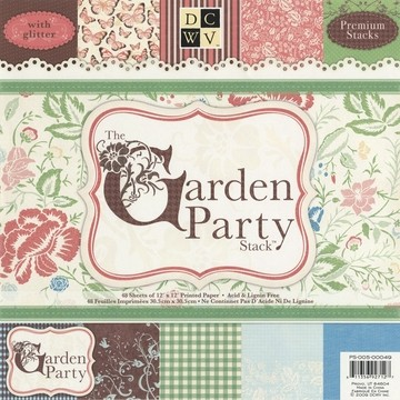 Papierblock Garden Party Matstack 30,5x30,5 cm PS-005-00049