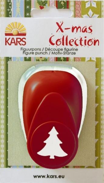 Motivstanzer X-mas Collection Tannenbaum ( rot )