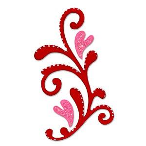 Sizzix Stanzform Originals LARGE Florales / flourish 655683